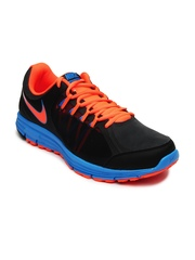 Nike Men Black Lunar Forever 3 MSL Running Shoes
