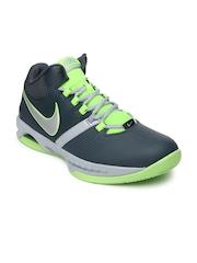 Nike Men Grey Air Visi Pro V Basketball Shoes