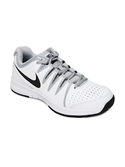 Nike Men White Vapor Court Sports Shoes