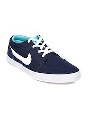 Nike Men Navy VOLEIO CNVS Sneakers