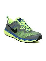 Nike Grey Dual Fusion Trail    Running  Sports Shoes