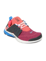 Nike Men Pink & Grey Lunarpresto Sports Shoes