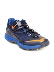 Nike Men Navy Lunaraccelerate Cricket Shoes