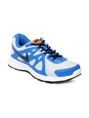Nike Men Grey & Blue Revolution 2 Msl Running Shoes