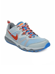 Nike Men Grey Dual Fusion Trail Running Shoes