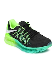 Nike Men Black Air Max 2015 Running Shoes