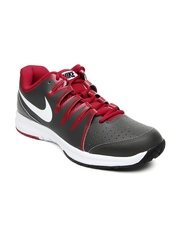 Nike Men Grey Vapor Court Tennis Shoes