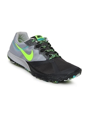 Nike Men Grey Zoom Wildhorse 2 Sports Shoes