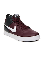 Nike Burgundy Liteforce III Mid Sl In  NSW  Casual Shoes