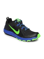 Nike Black Wild Trail     Running  Sports Shoes