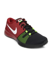 Nike Men Black & Maroon Zoom Speed TR2 Training Shoes