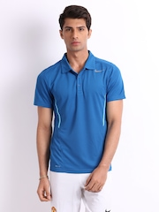 Nike Men Blue Polo T-shirt