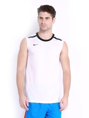 Nike Men White T-shirt
