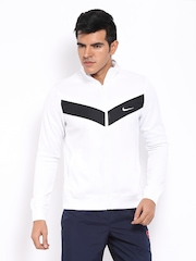 Nike Men White Jacket