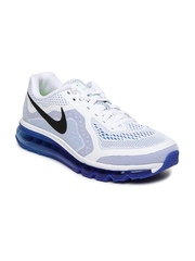 Nike White Air Max 2014    Running  Sports Shoes