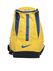 Nike Men Yellow Allegiance Brasil Shield Backpack