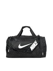 Nike Unisex Black Duffle Bag