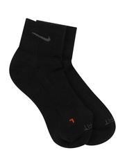 Nike Black Dri-fit Cotton Cushion    Training  Socks