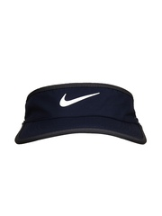 Nike Unisex Navy Feather Light Tennis Visor Cap