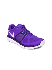 Nike Purple Flex 2014 Run    Running  Sports Shoes