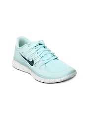 Nike Women Blue Free 5.0+ Running Shoes
