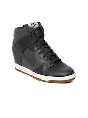 Nike Women Black Dunk Sky Hi Casual Shoes