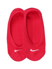 Nike Women Coral Red Performance Cotton Lightweight Socks