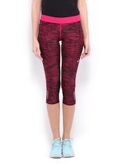 Nike Pink Relay Crop     Running  Tights