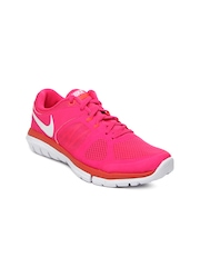 Nike Pink Flex 2014 Run    Running  Sports Shoes