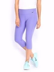 Nike Purple Legend 2     Training  Tights