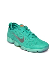 Nike Women Sea Green Zoom Fit Agility Training Shoes
