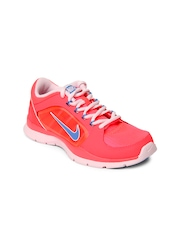 Nike Women Neon Pink Flex Trainer 4 Training Shoes