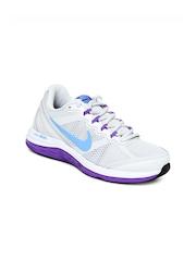 Nike Grey Dual Fusion Run 3   Running  Sports Shoes
