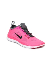 Nike Women Pink Free 5.0 TR Fit 4 Sports Shoes