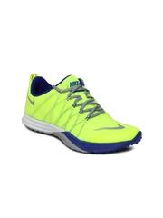 Nike Women Neon Green Lunar Cross Element Training Shoes