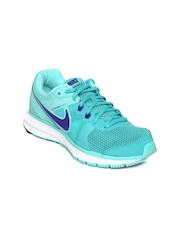 Nike Women Teal Green Zoom Winflo Running Shoes
