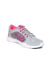 Nike Women Grey Flex Trainer 4 Sports Shoes