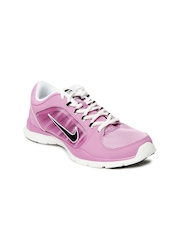 Nike Women Lavender Flex Trainer 4 Training Shoes