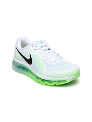 Nike Women White Air Max 2014 Sports Shoes
