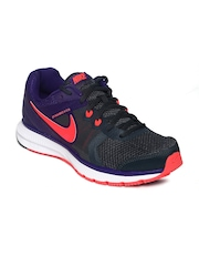 Nike Women Grey Zoom Winflo Running Shoes