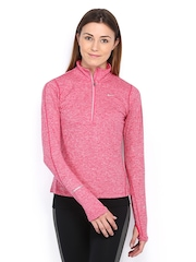Nike Pink Element 41641 Zip    Running  Tshirts