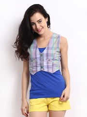 Nineteen Women Multi-Coloured Waistcoat