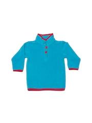 Nino Bambino Kids Turquoise Blue Sweater