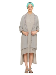 Nishka Lulla For Stylista Grey Women Jacket