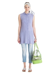 Nishka Lulla for Stylista Women Lavender Coloured Girl Next Door Top