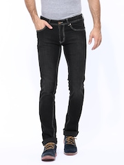 Numero Uno Men Black Morice Slim Fit Jeans