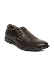 Numero Uno Men Brown Leather Casual Shoes