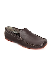 Numero Uno Men Brown Leather Loafers