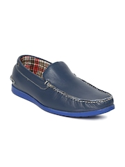 Numero Uno Men Navy Leather loafers
