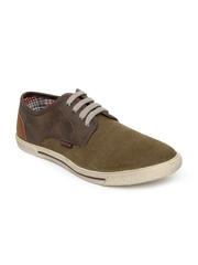 Numero Uno Men Green Casual Shoes